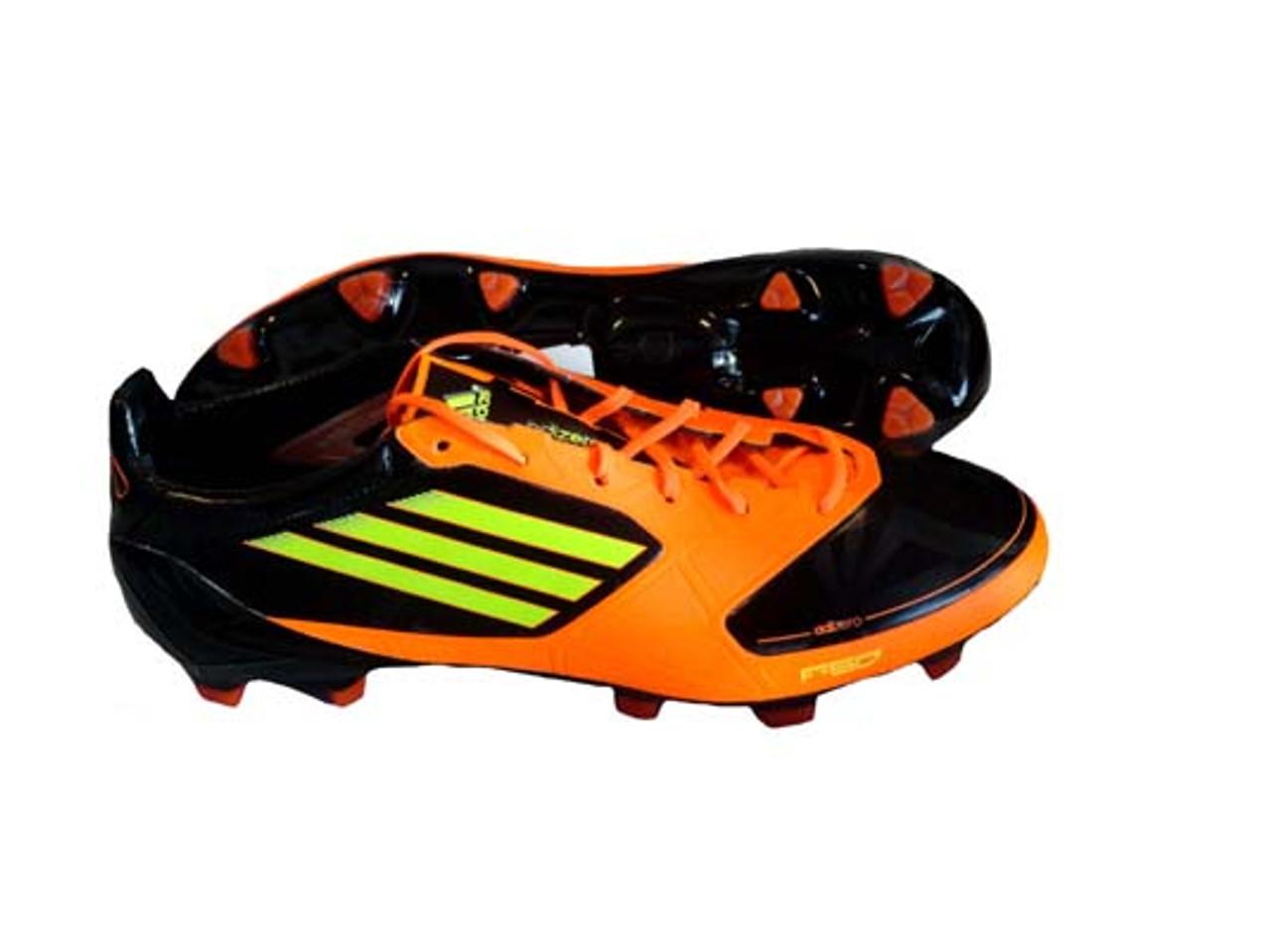 183edb283718 ADIDAS F50 ADIZERO SOCCER CLEATS black/electric/orange - Soccer Plus