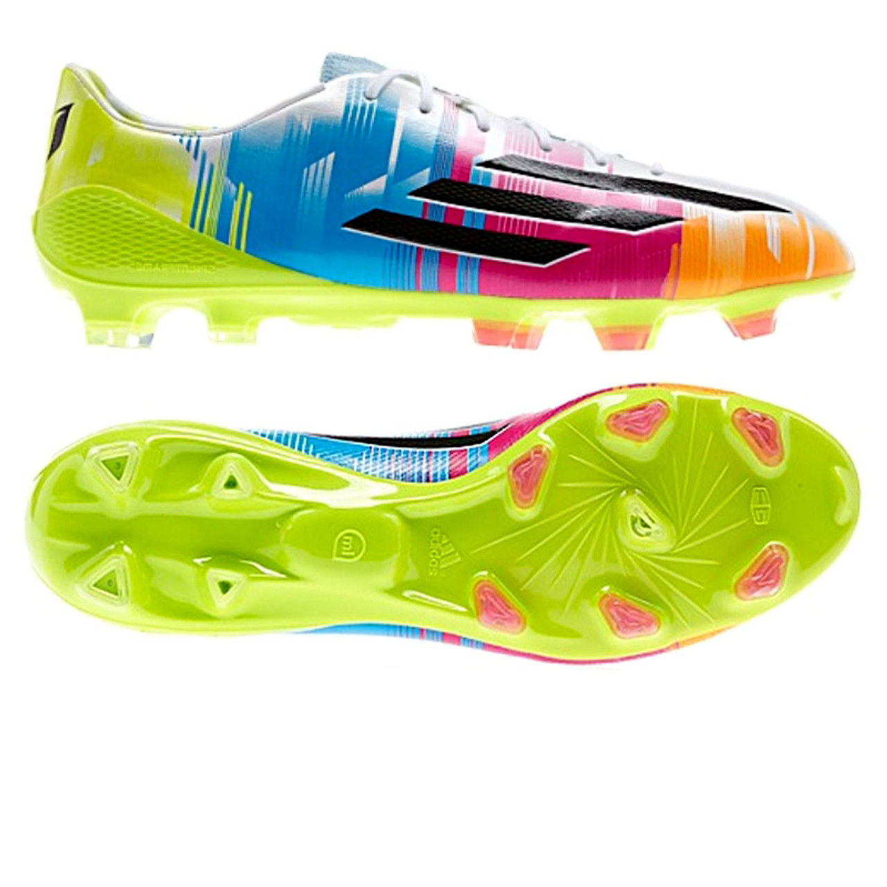 newest f8d18 bb2d8 ADIDAS F50 ADIZERO FG MESSI multi color - Soccer Plus