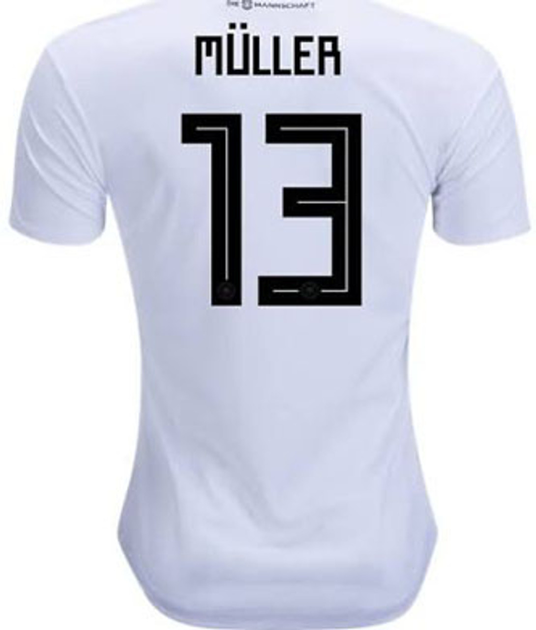 newest 4c362 010f2 ADIDAS GERMANY 2018 WORLD CUP HOME `MULLER` JERSEY