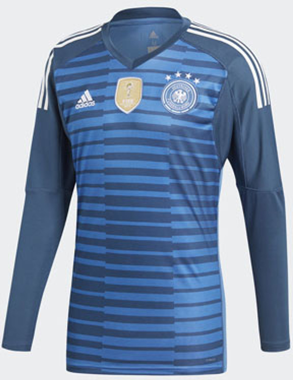 ADIDAS GERMANY 2018 WORLD CUP G/K JERSEY BLUE