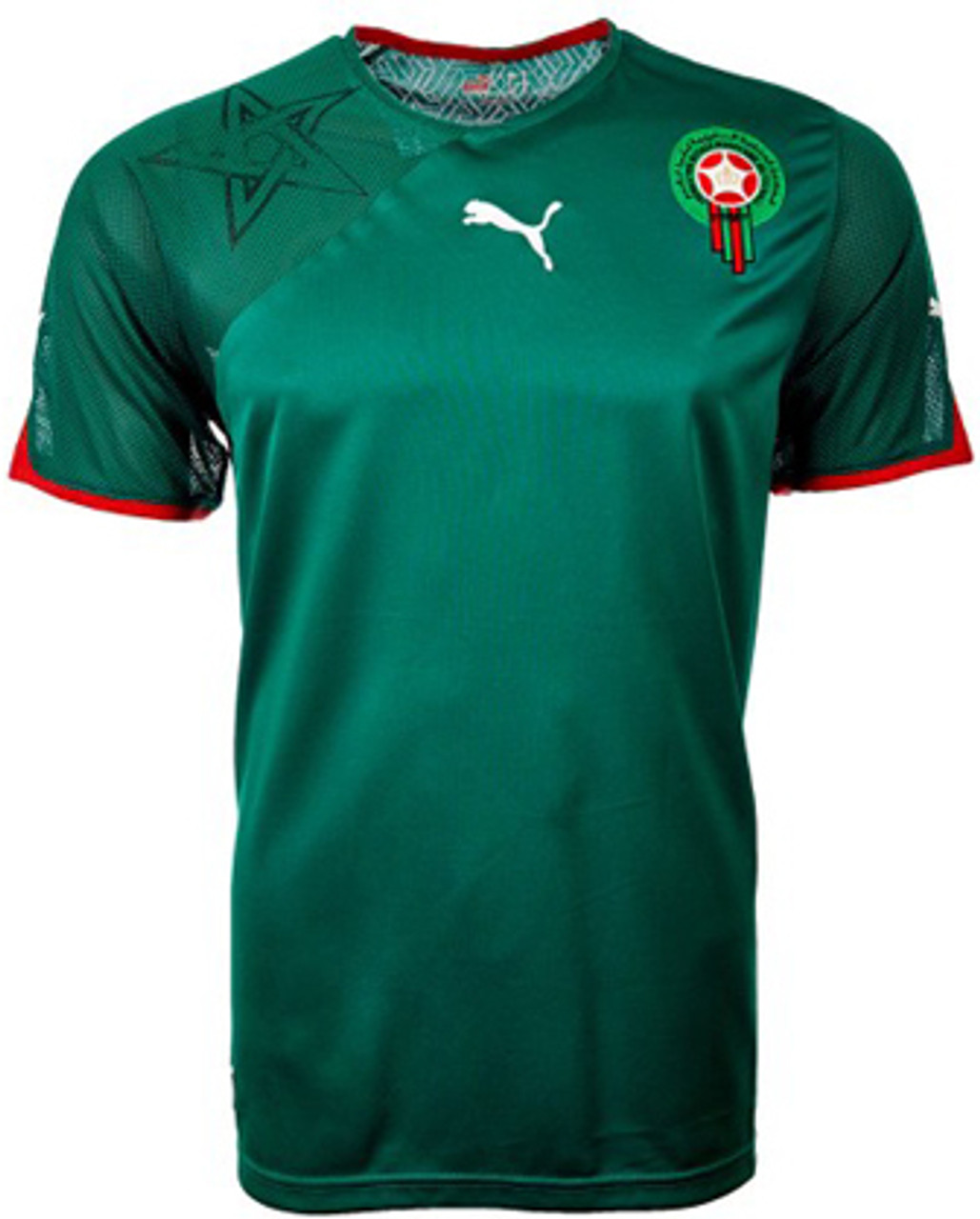 finest selection 770d2 95d11 PUMA MOROCCO 2010 HOME JERSEY
