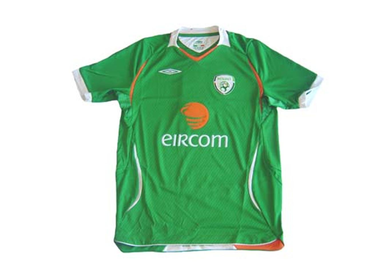 UMBRO IRELAND 2008 HOME JERSEY - Soccer Plus 823594fa8