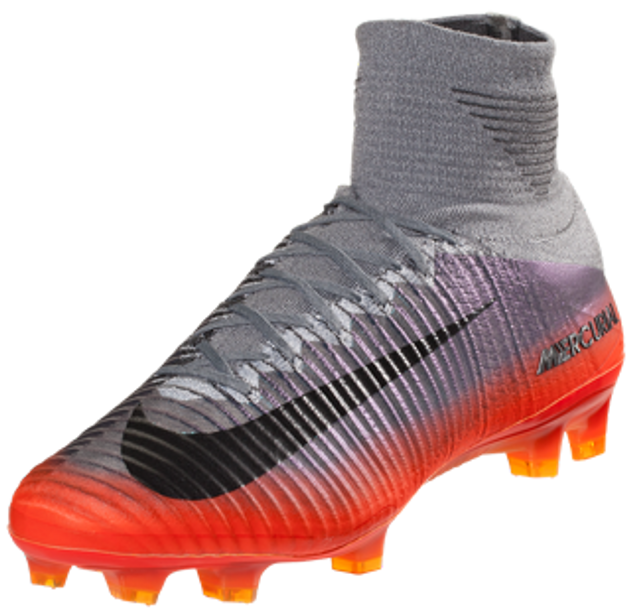 new product 829fe 176bc NIKE MERCURIAL SUPERFLY V CR7 FG Cool Grey/Total Crimson/Tart