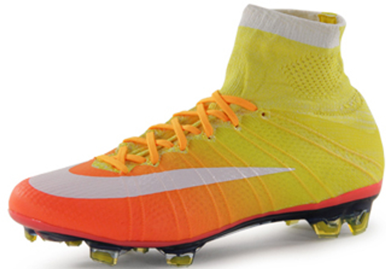 hot sale online 4ca2e b5062 NIKE WOMEN'S MERCURIAL SUPERFLY FG YELLOW/BRIGHT MANGO/WHITE