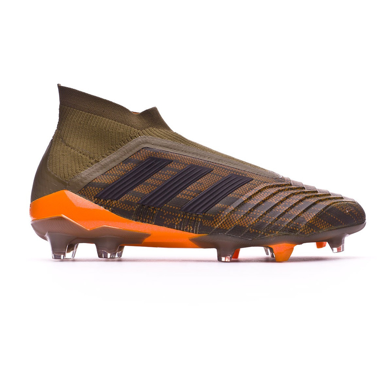 db2b4b1ce616 ADIDAS PREDATOR 18+ FG Trace Olive Bright Orange - Soccer Plus