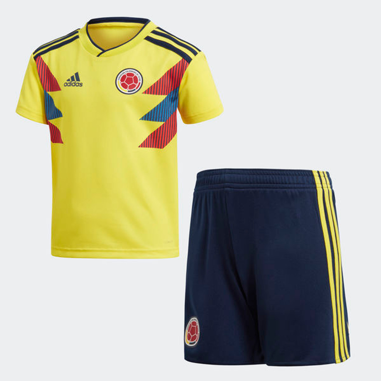 231f0b04bfd ADIDAS COLOMBIA 2018 Home Mini Kit - Soccer Plus
