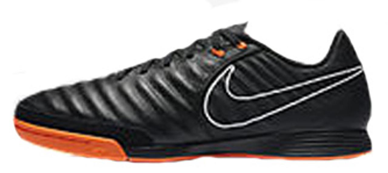 selección premium nuevo estilo de código promocional NIKE TIEMPOX LEGEND VII Academy IC black/orange - Soccer Plus