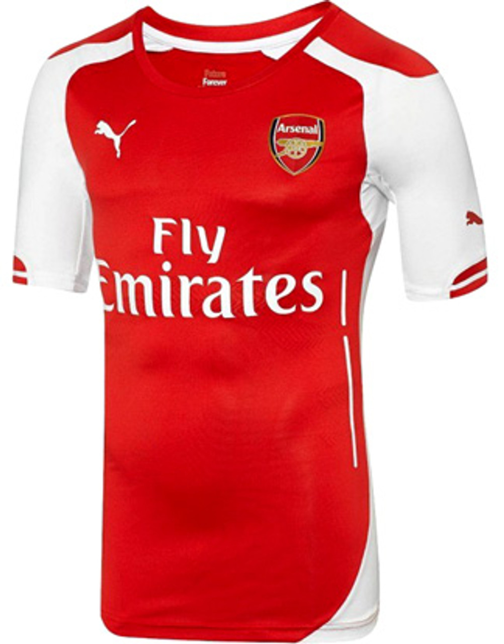 PUMA ARSENAL 2015 HOME AUTHENTIC JERSEY
