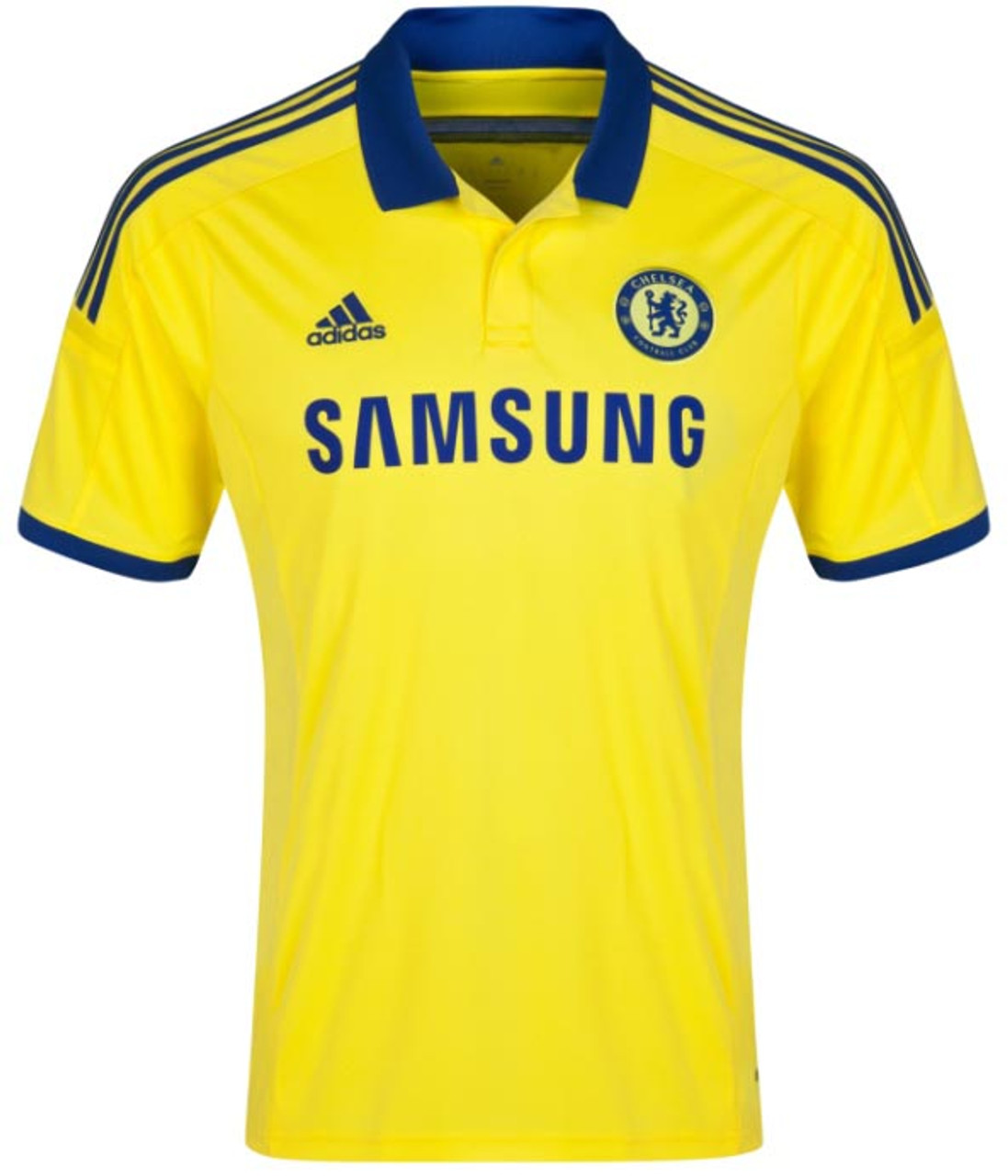 8e74b22e20f ADIDAS CHELSEA 2015 AWAY JERSEY YELLOW - Soccer Plus