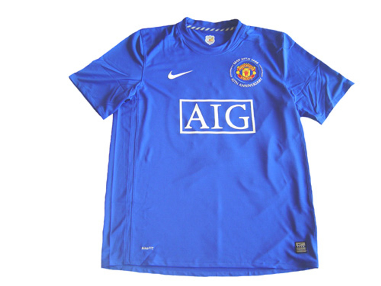 promo code c28d2 fe6ee NIKE MANCHESTER UNITED 2009 ROYAL BLUE 3RD JERSEY