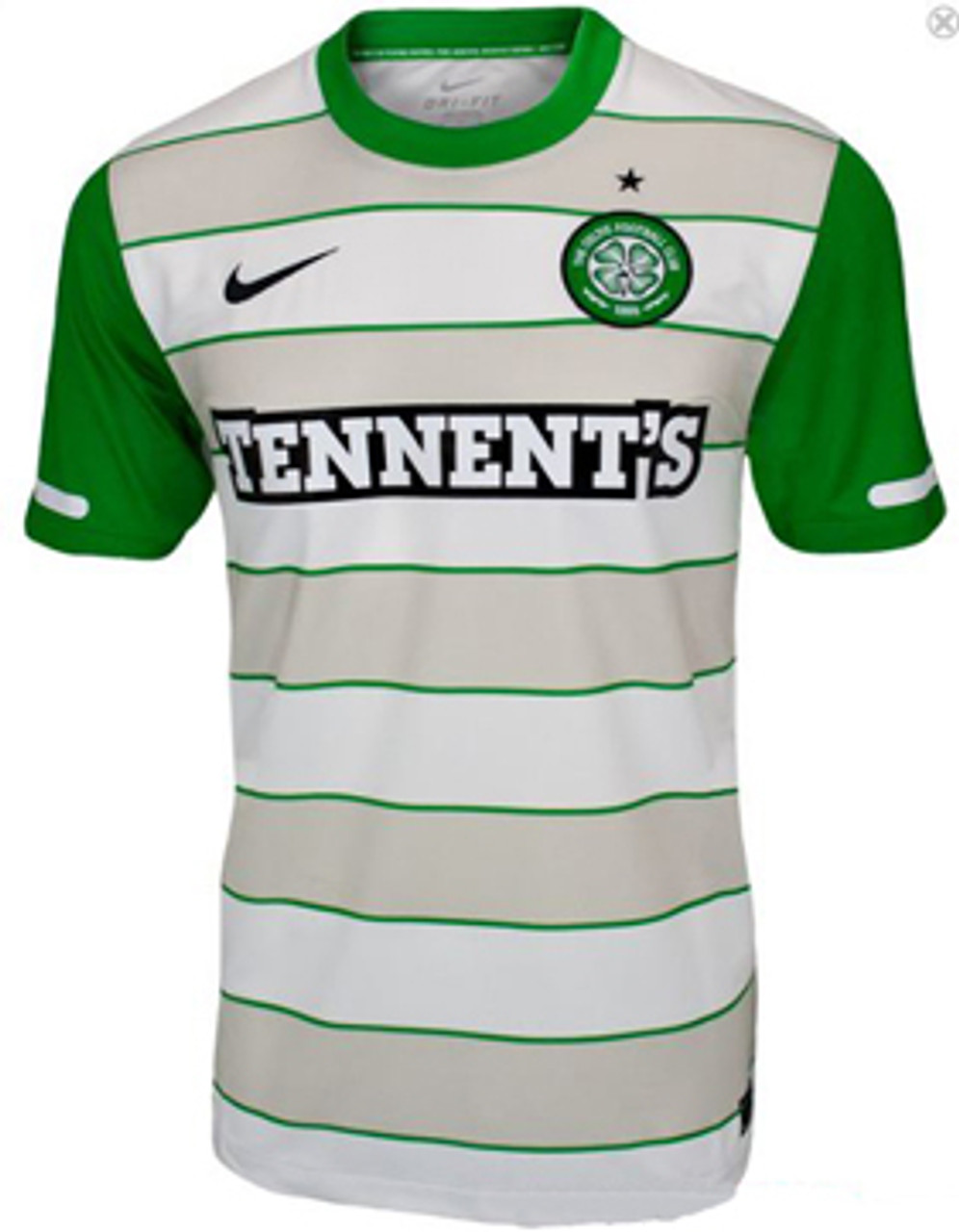 hot sale online 4b2b2 0724b NIKE CELTIC 2012 AWAY JERSEY white
