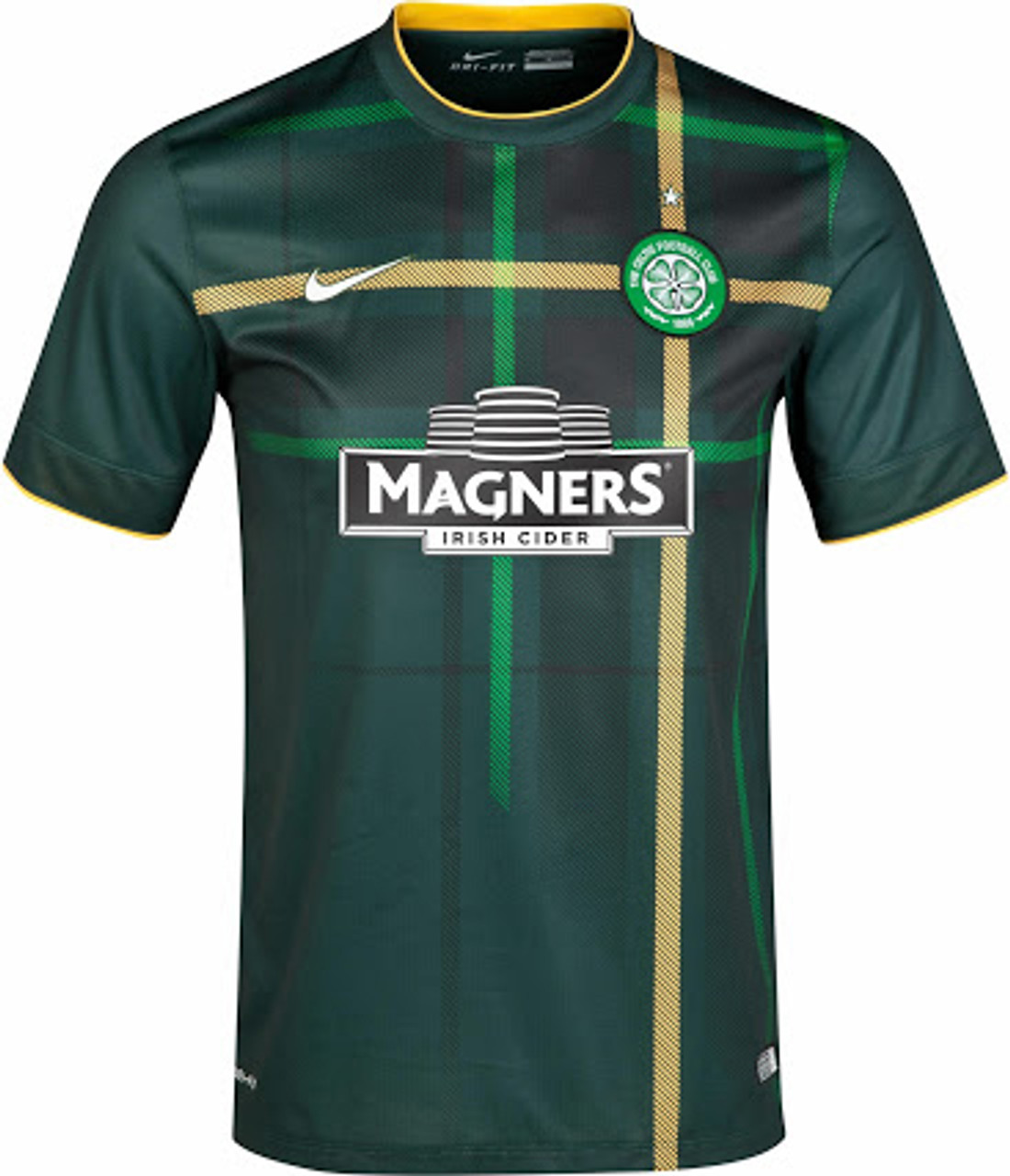 ce3c9ed3504 NIKE CELTIC 2015 AWAY JERSEY `A CLUB LIKE NO OTHER`dark green - Soccer Plus