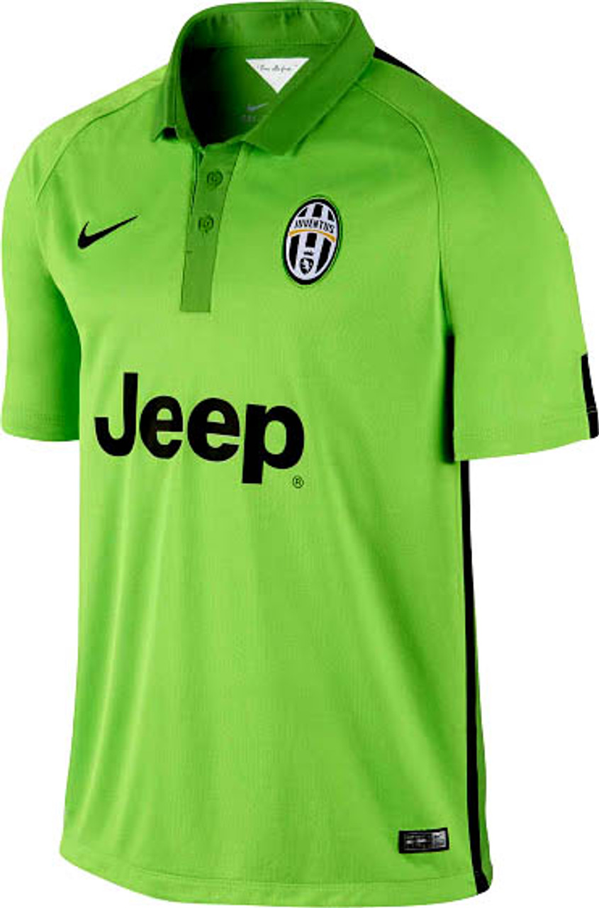 the latest 578aa 3e69b NIKE JUVENTUS 2015 AWAY 3RD `PIRLO`JERSEY green