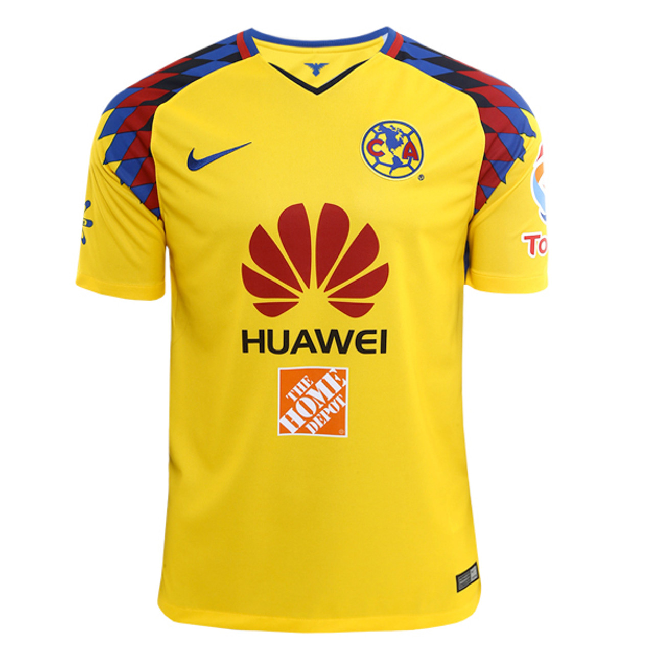95ade8a08 NIKE CLUB AMERICA 2018 BOYS 3RD JERSEY YELLOW - Soccer Plus