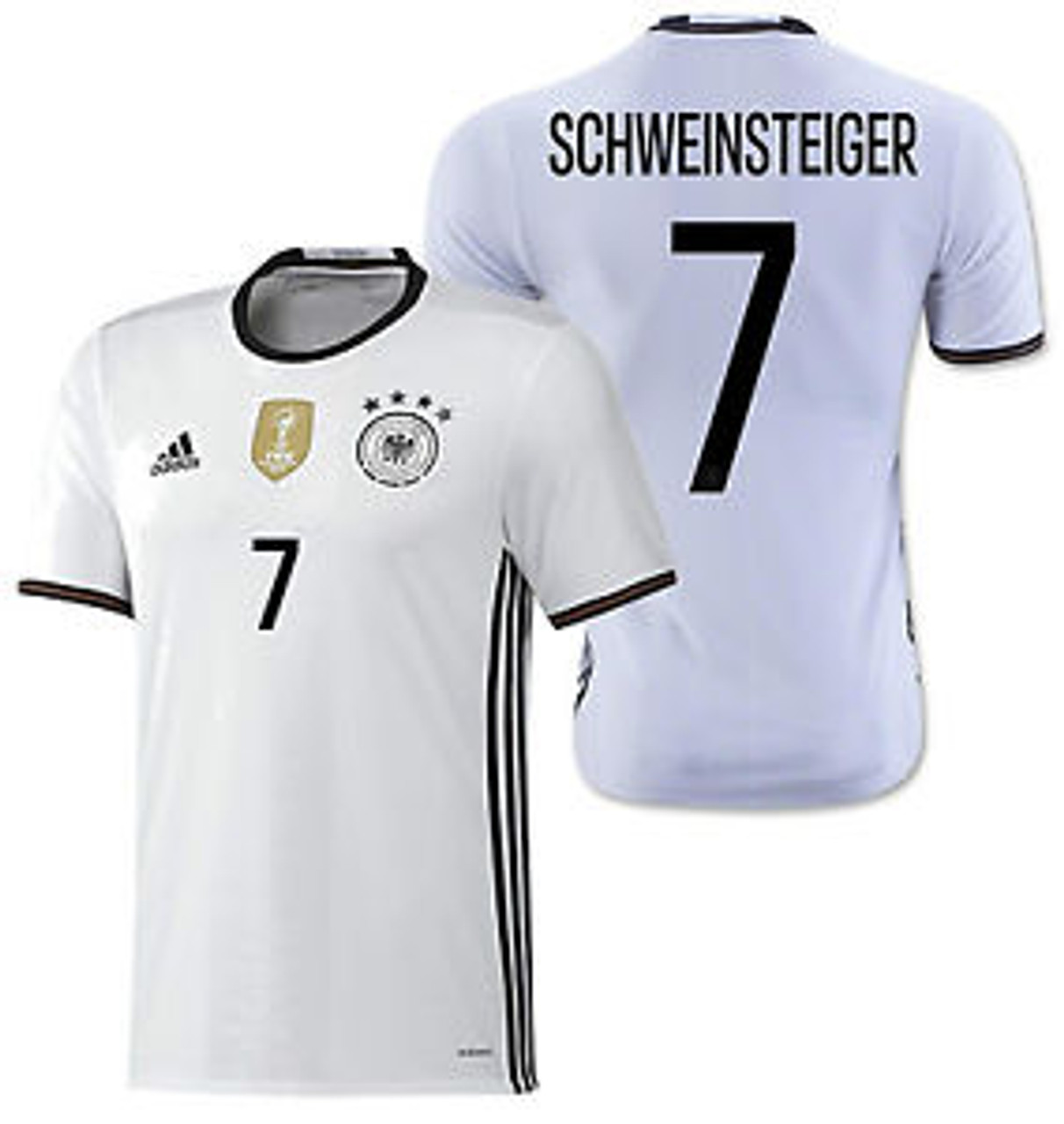 ADIDAS GERMANY 2016 `SCHWEINSTAGER`HOME JERSEY