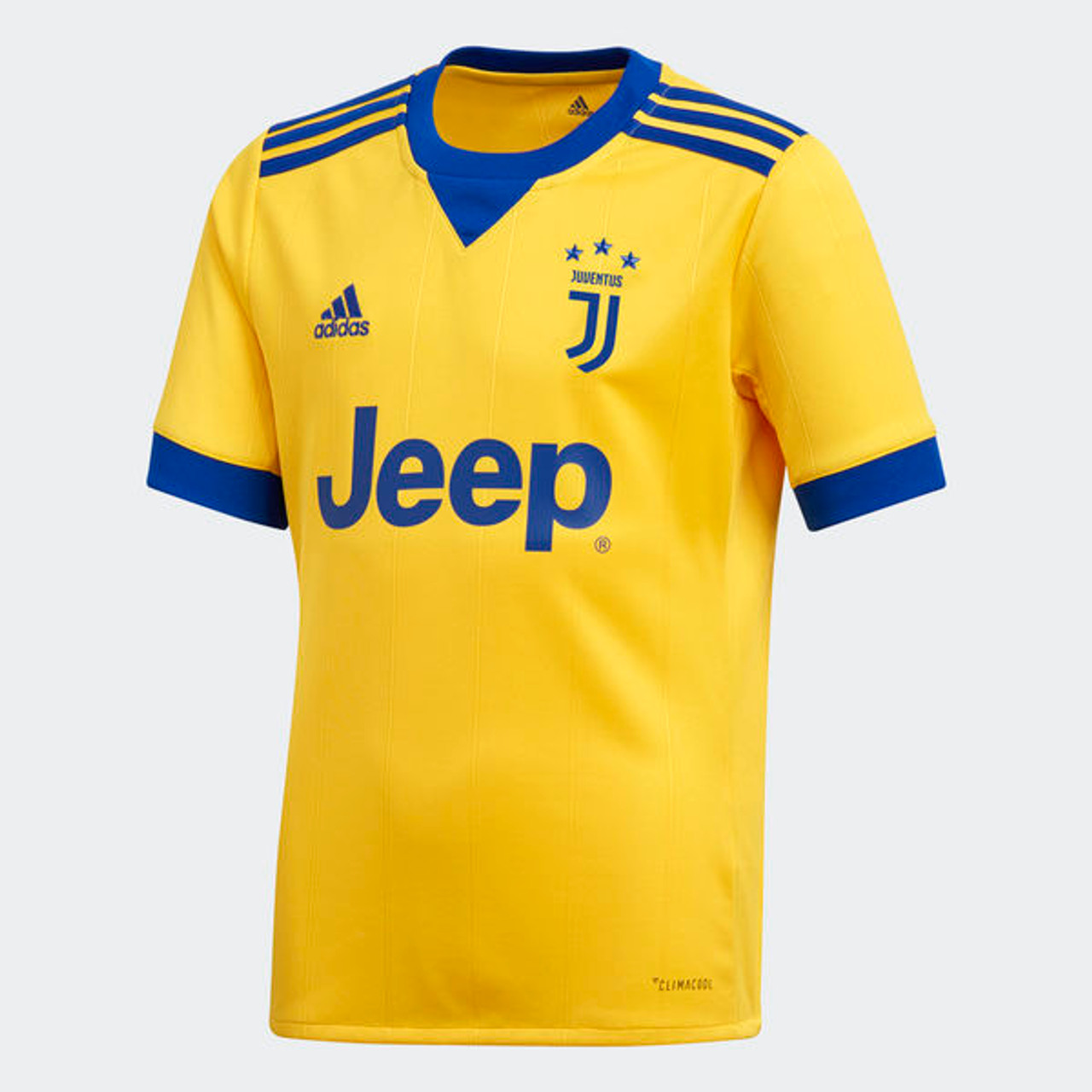 f85c15263 ADIDAS JUVENTUS 2018 AWAY JERSEY YELLOW - Soccer Plus