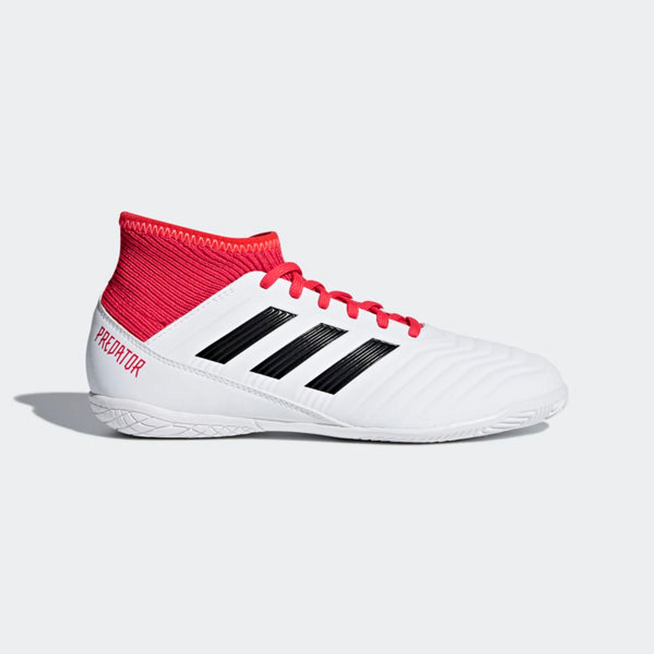 ADIDAS JR PREDATOR TANGO 18.3 Indoor Shoes Whitereal coral