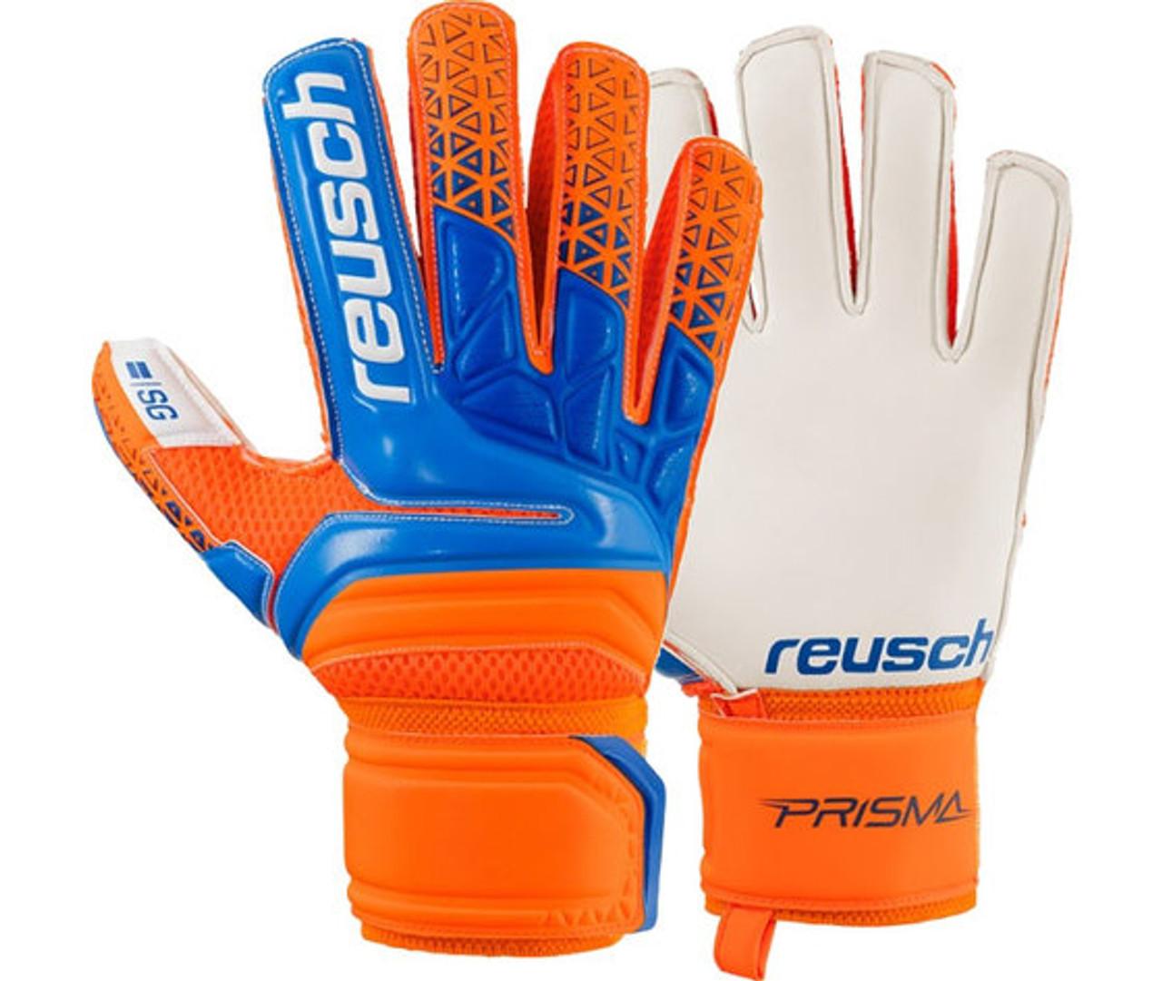 60c5f1cdf62 Reusch Prisma SG GK Glove Orange - Soccer Plus