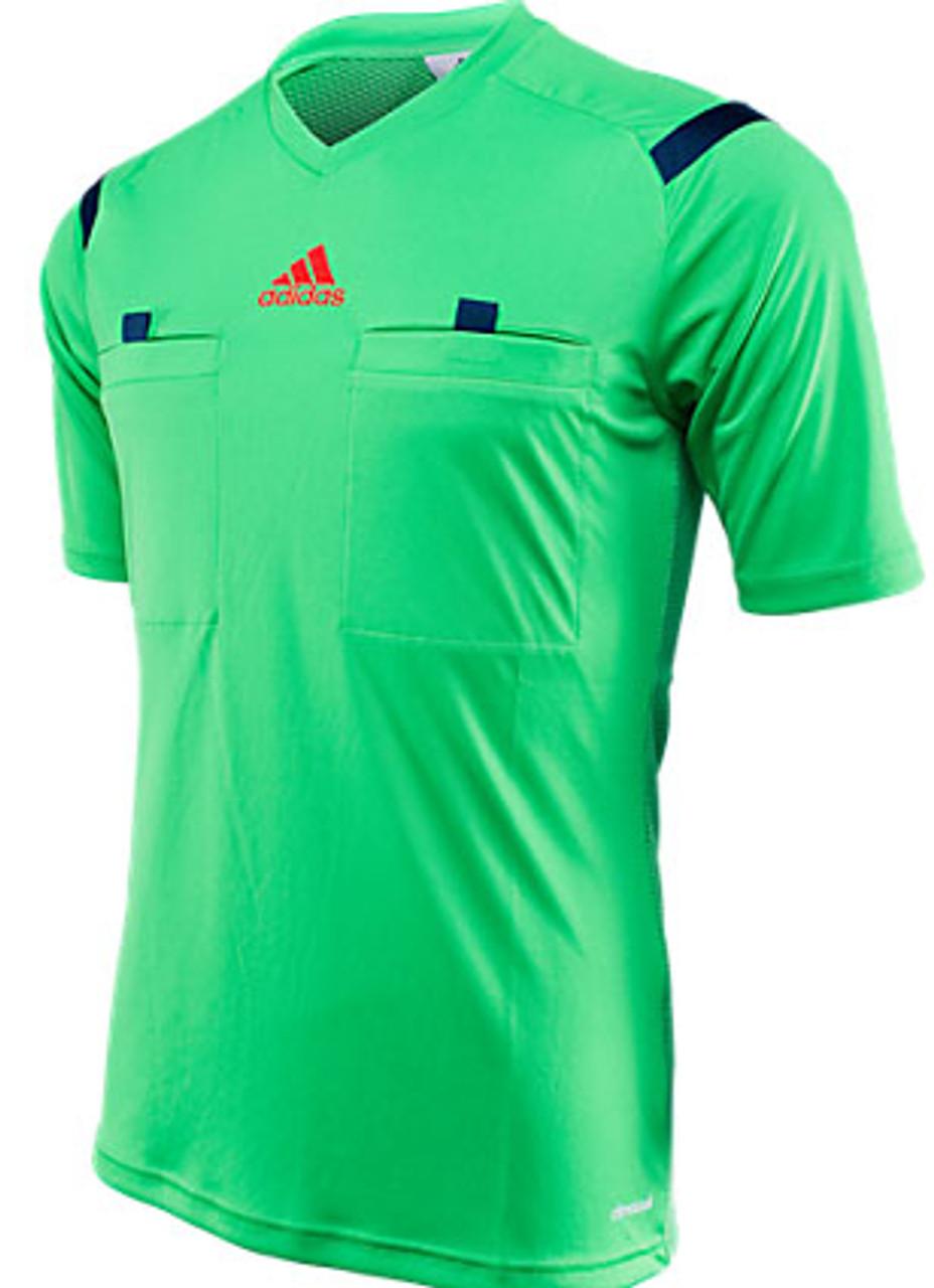 ADIDAS REFEREE WORLD CUP 2014 JERSEY green
