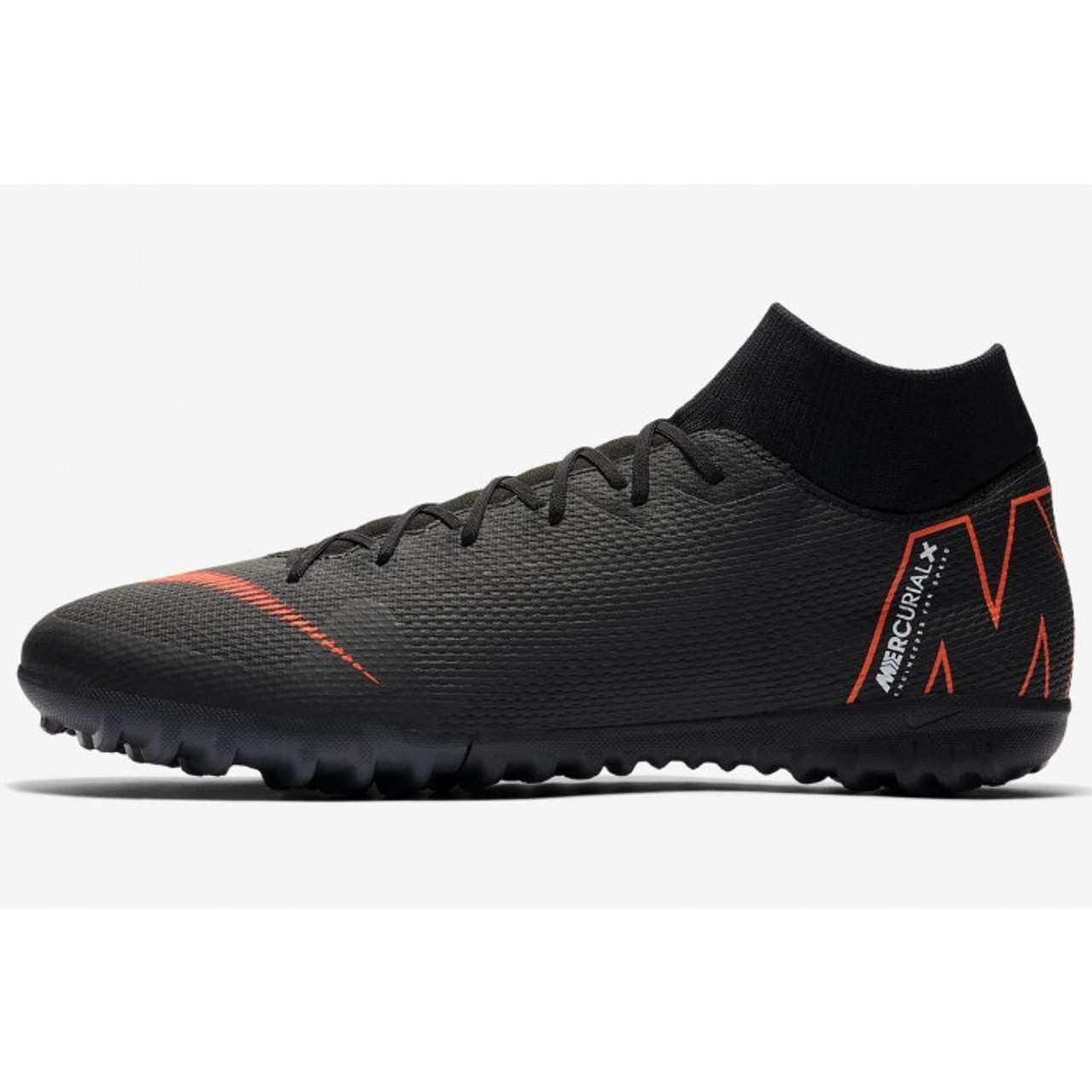 hot sale online aff5c 9a55c NIKE SUPERFLYX 6 ACADEMY TF Black