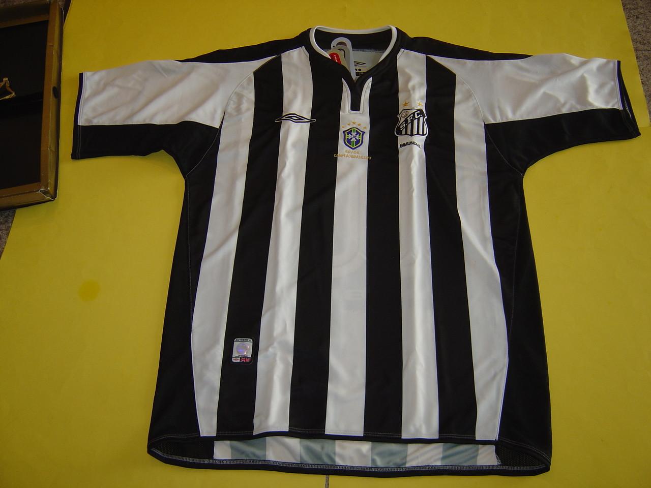 5277b6165ce UMBRO SANTOS FC 2005 AWAY JERSEY #10 - Soccer Plus