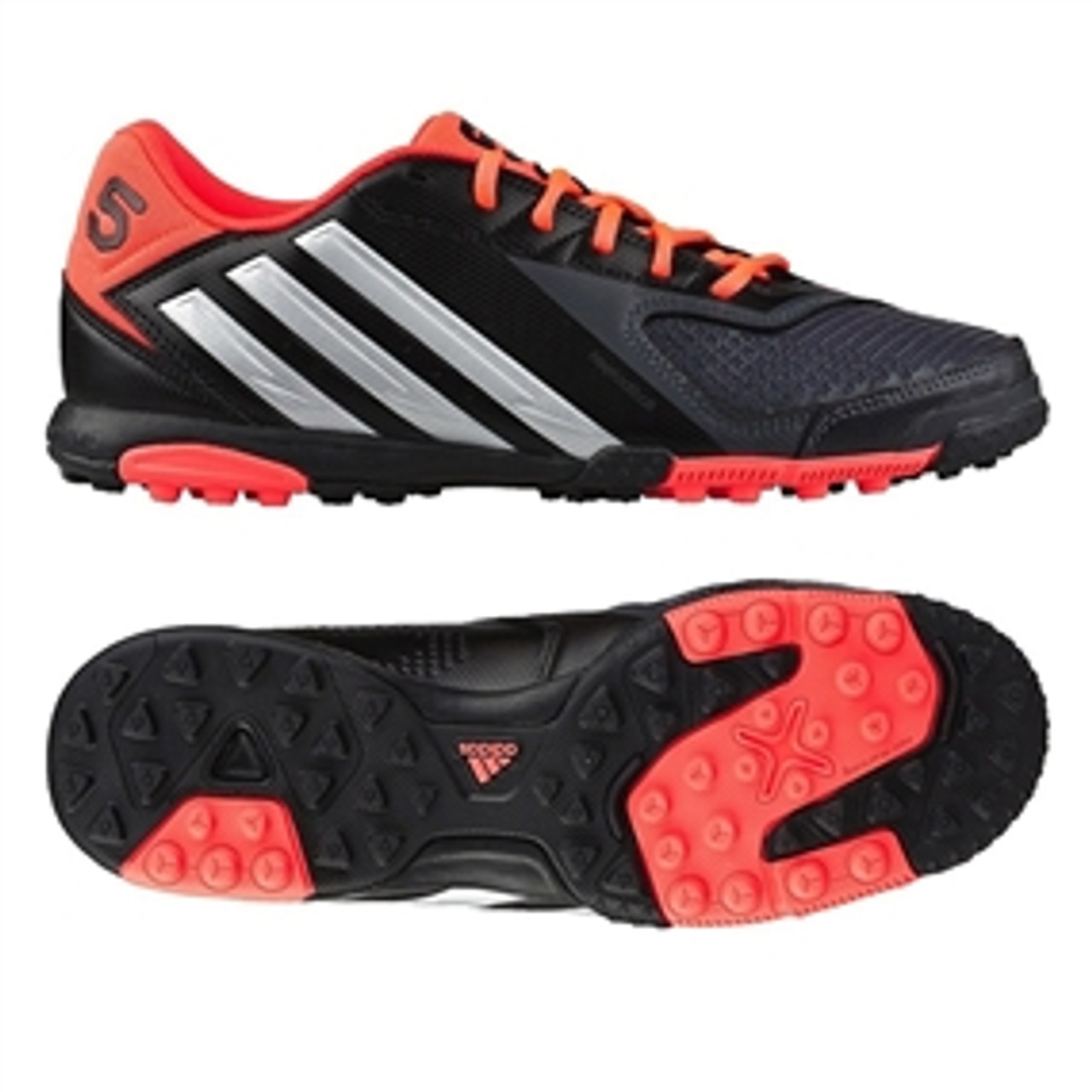 perfect quality best online terrific value ADIDAS FREEFOOTBALL X-ite Turf Soccer Shoes (Black/Silver/Pop)