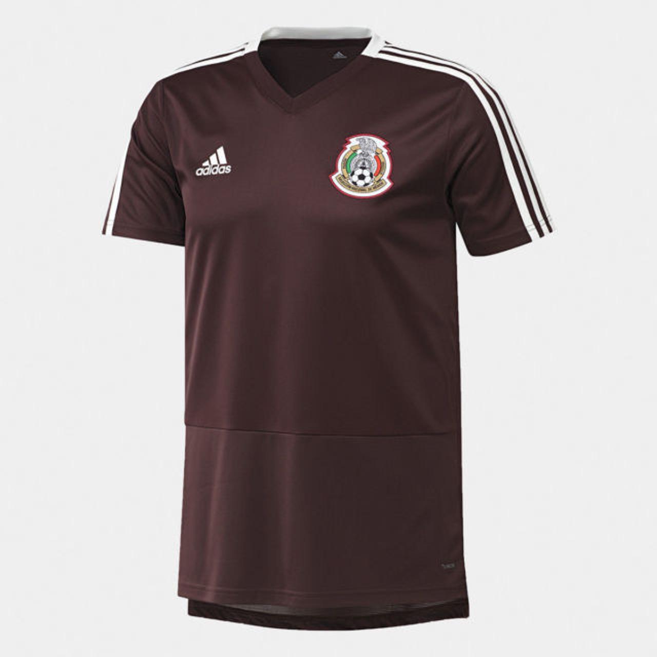 ADIDAS MEXICO 2018 TRAINING JERSEY