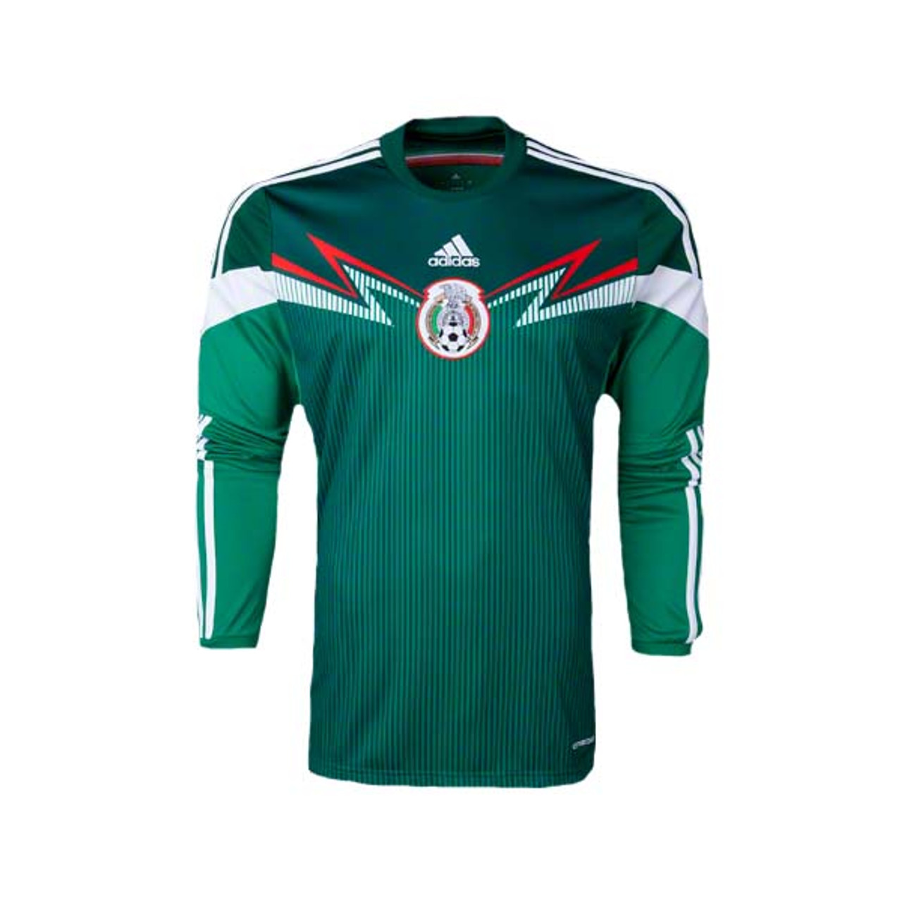 ADIDAS MEXICO 2014 HOME L/S JERSEY