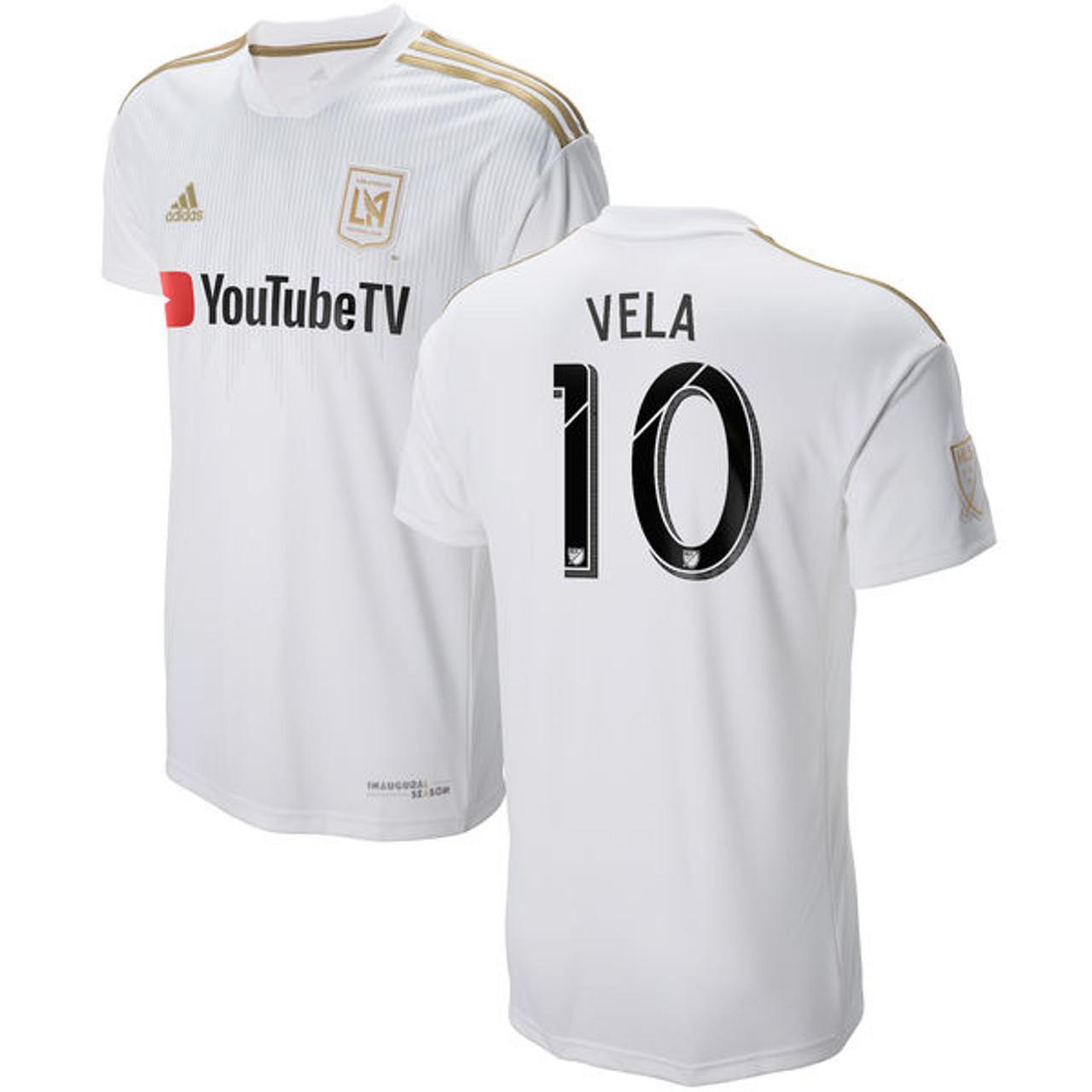 46b0b36a200 ADIDAS LAFC AWAY `VELA`JERSEY WHITE - Soccer Plus