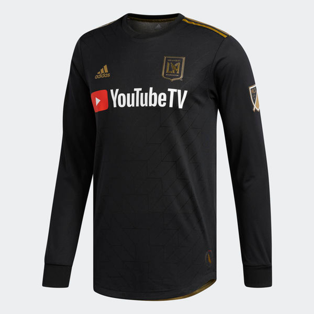 finest selection f49a7 86492 ADIDAS LAFC 2018 AUTHENTIC HOME L/S JERSEY
