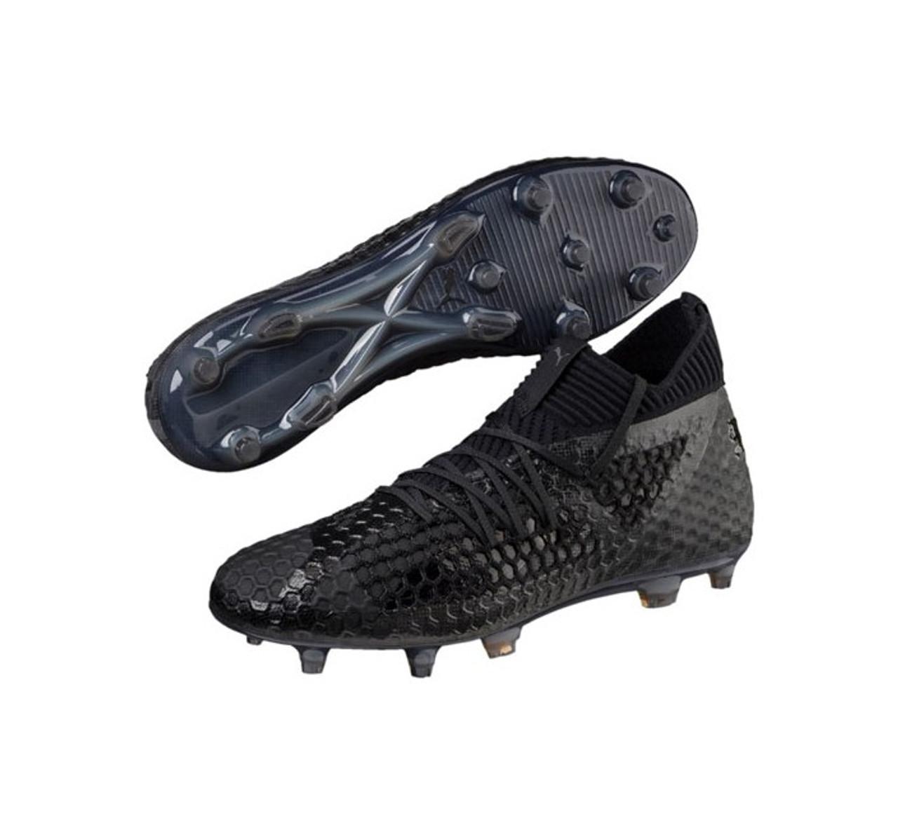 dbe390f3851 PUMA FUTURE 18.1 Netfit FG AG - Puma Black - Soccer Plus