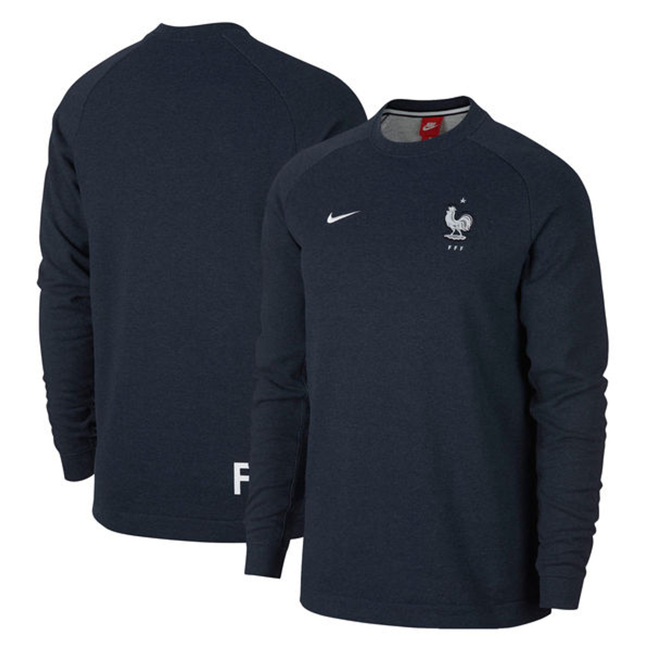 NIKE FRANCE 2018 Pullover Sweater </p>                     </div>   <!--bof Product URL --> <!--eof Product URL --> <!--bof Quantity Discounts table --> <!--eof Quantity Discounts table --> </div>                        </dd> <dt class=