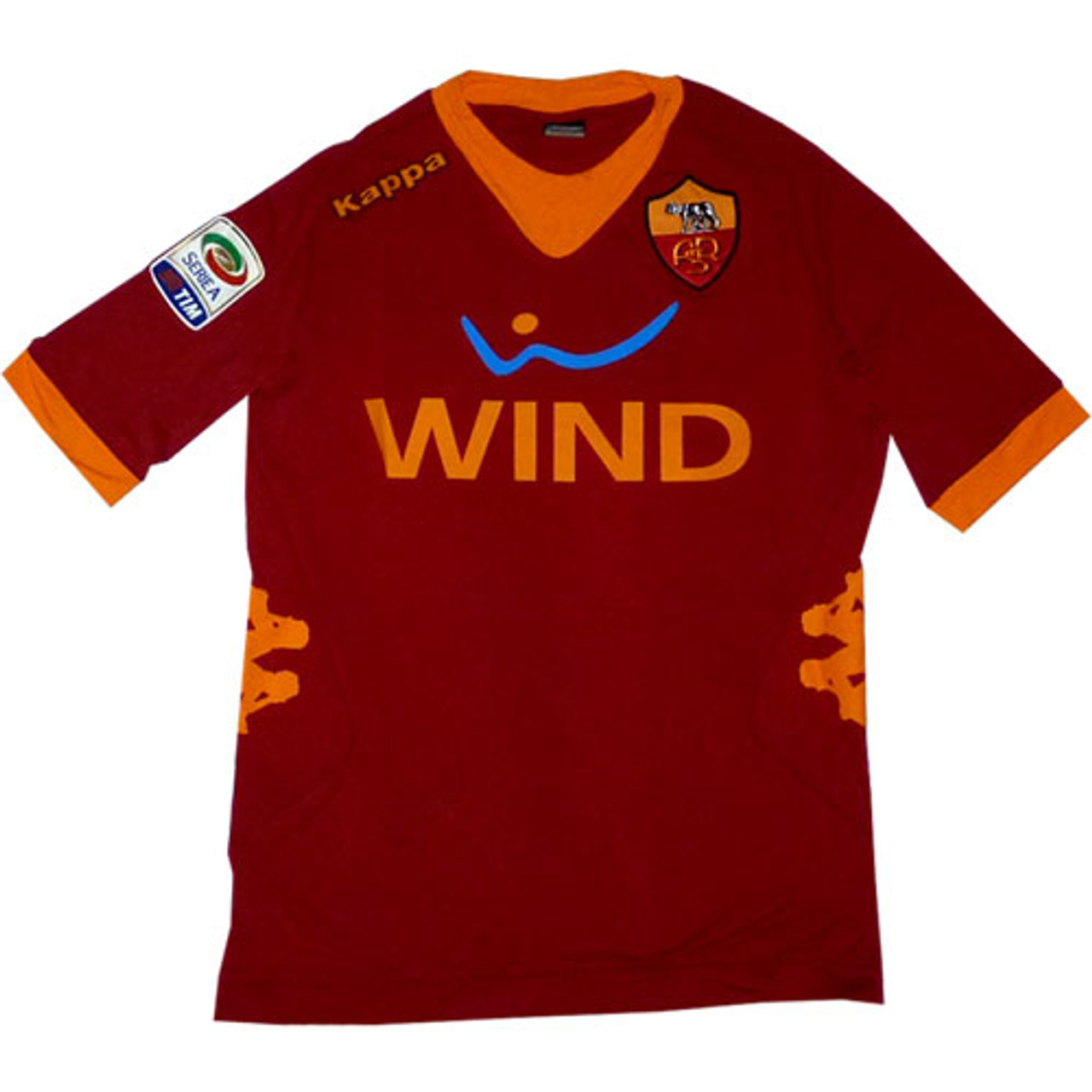 huge discount 1bff6 ce01a KAPPA ROMA 2012 HOME JERSEY