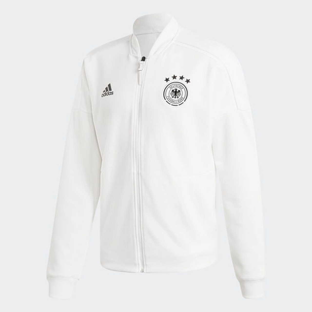 best authentic ded30 10ee7 ADIDAS GERMANY 2018 Z.N.E. Jacket wHITE - Soccer Plus