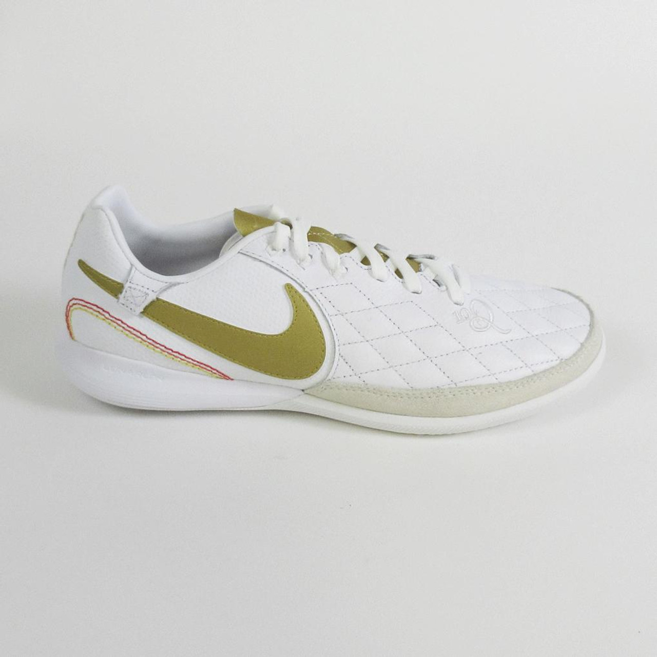 578a8045543 NIKE LUNAR LEGENDX 7 PRO 10R IC white gold - Soccer Plus