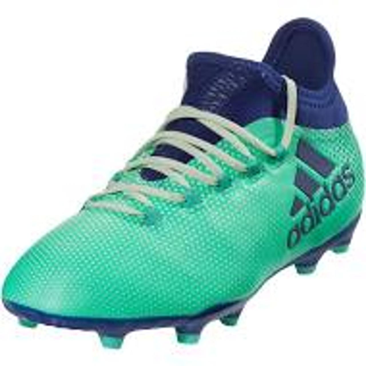 size 40 bc010 52b62 ADIDAS X 17.1 FG Junior Soccer Cleats Aero Green