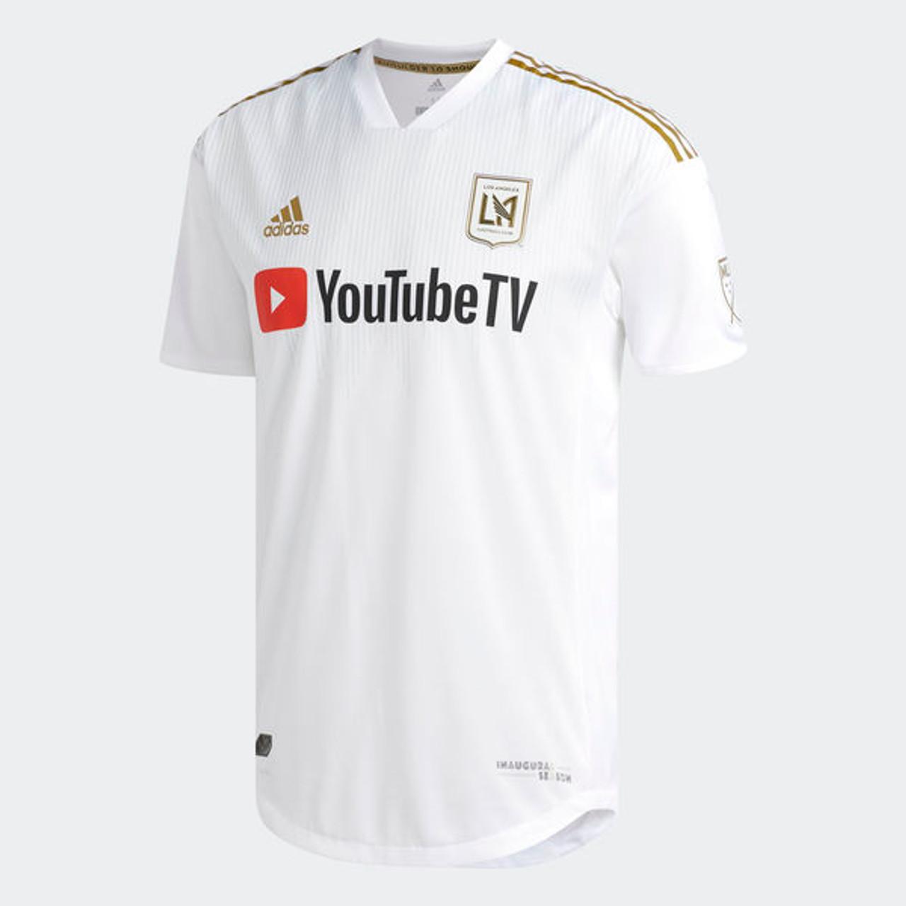 c9fb47fc62e ADIDAS LAFC 2018 AUTHENTIC JERSEY WHITE - Soccer Plus