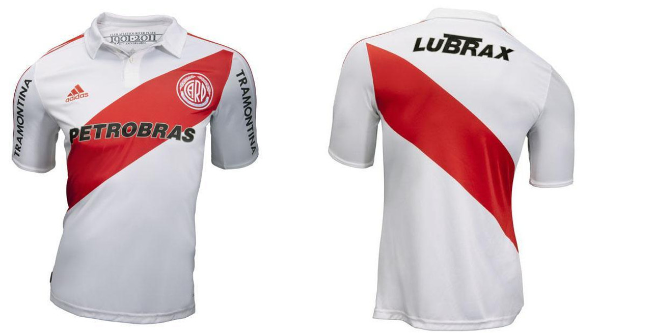 ADIDAS RIVER PLATE 2012 HOME JERSEY - Soccer Plus 55a565776