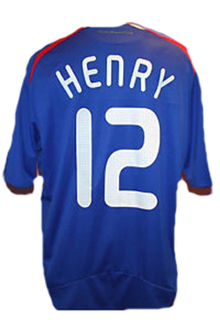 ADIDAS FRANCE 2008 HOME `HENRY` JERSEY