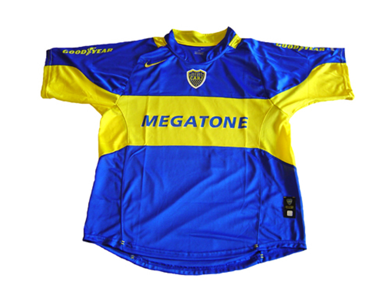 Centro comercial Manchuria yeso  NIKE BOCA JUNIORS 2006 HOME `PALERMO` JERSEY - Soccer Plus