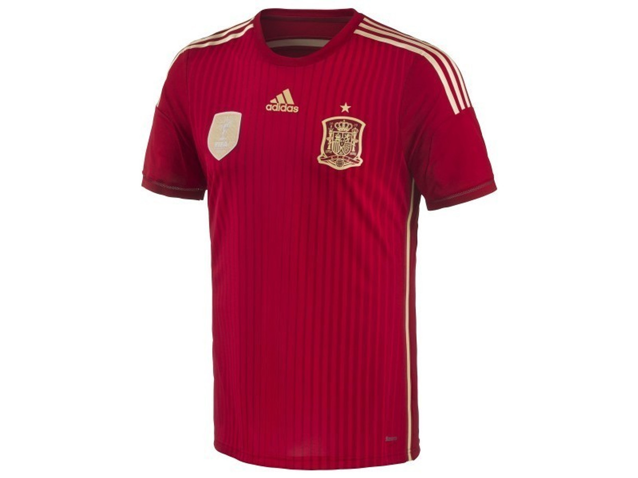 ADIDAS SPAIN 2014 HOME AUTHENTIC JERSEY