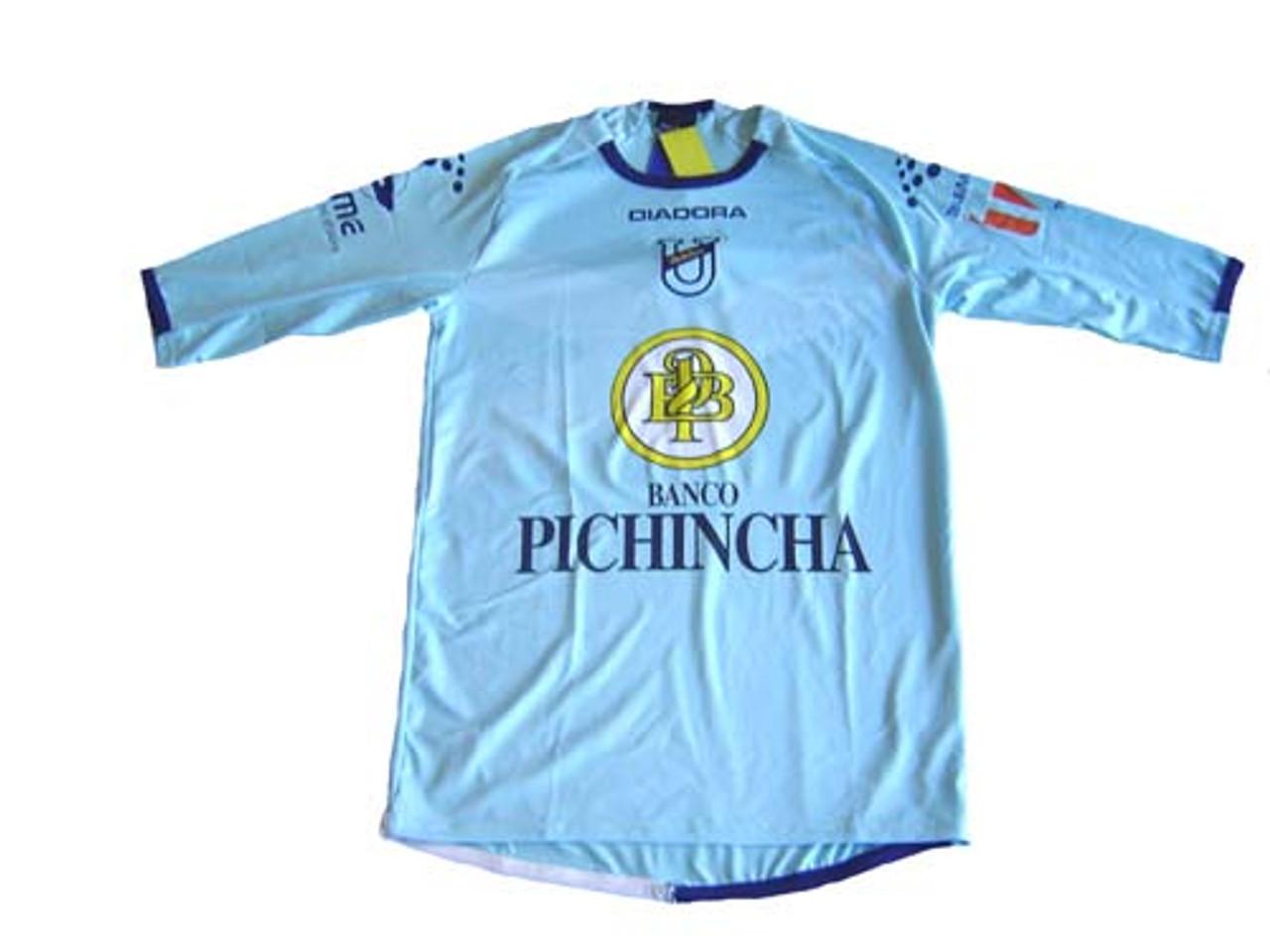 Diadora U Catolica 2009 Home Jersey Blue Soccer Plus