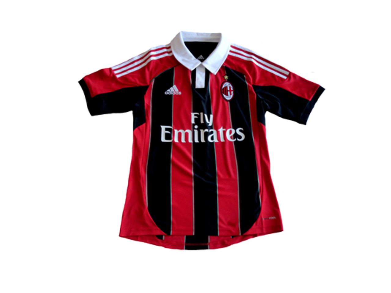 finest selection cb441 0d2aa ADIDAS AC MILAN 2013 HOME JERSEY