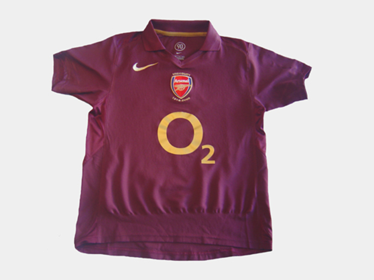 new concept 819e0 9cfd1 NIKE ARSENAL 2006 HOME `REYES` JERSEY