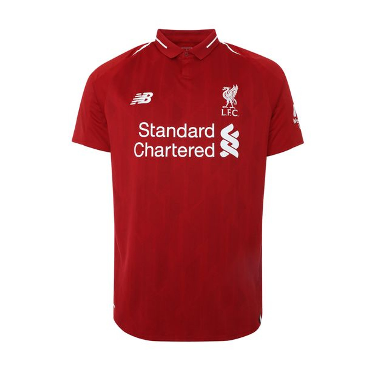 69080ef7c NEW BALANCE LIVERPOOL 2019 HOME JERSEY - Soccer Plus