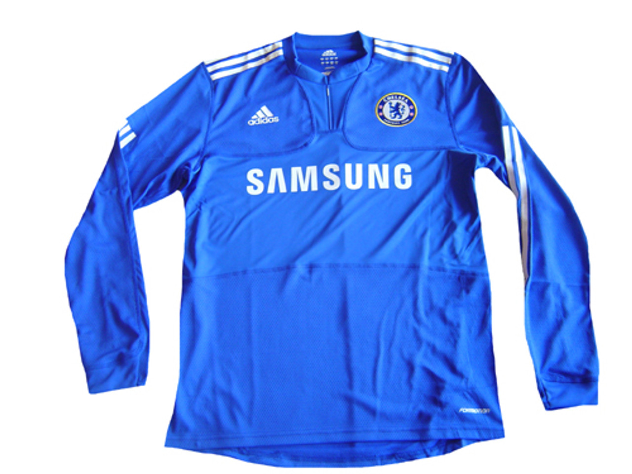 pretty nice 9aba1 f7680 ADIDAS CHELSEA 2010 AUTHENTIC HOME L/S JERSEY