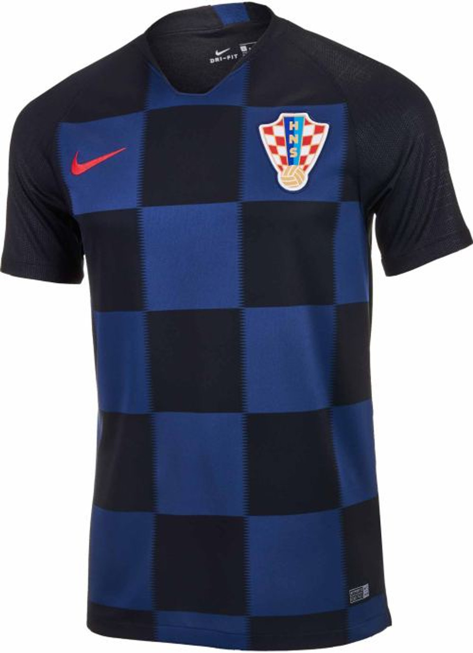 the latest 945f9 0a796 NIKE CROATIA 2018 AWAY JERSEY BLACK