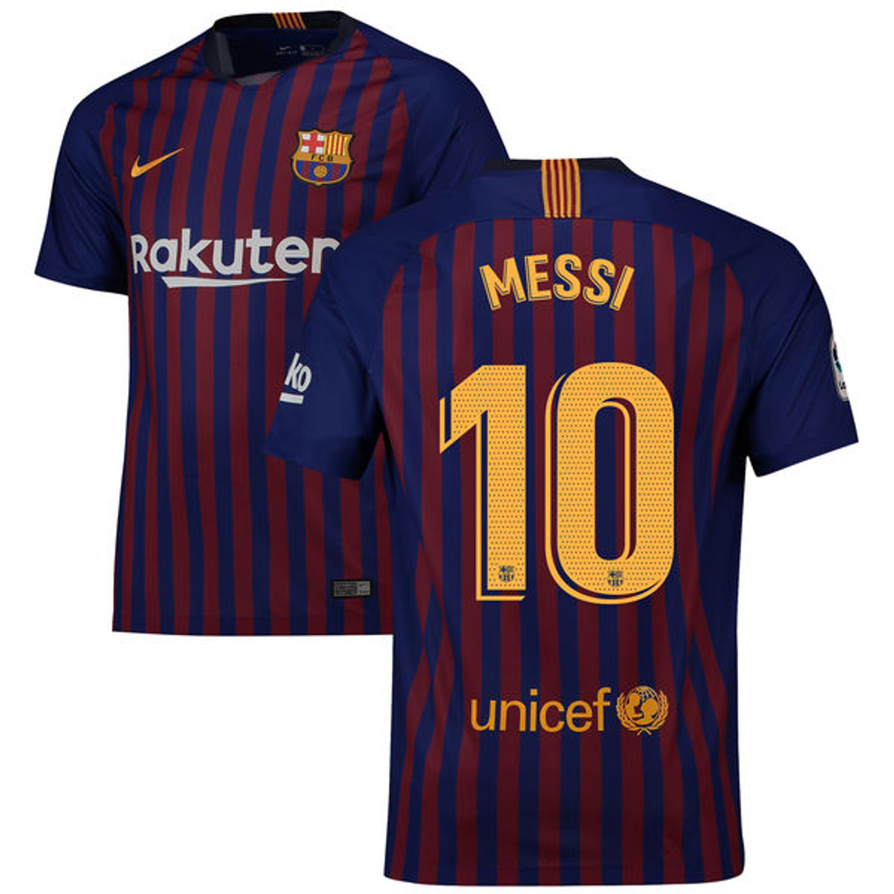 1a5e734cfb8 NIKE BARCELONA 2019 HOME `MESSI` JERSEY - Soccer Plus