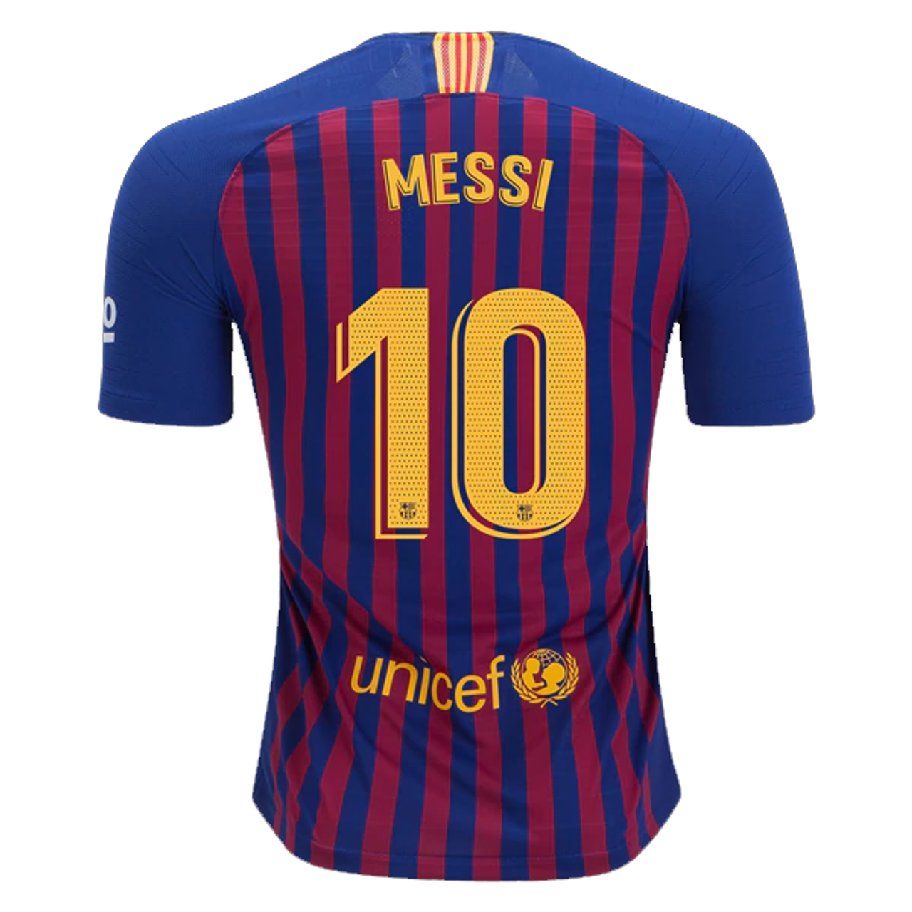 ed9c4418685 NIKE BARCELONA 2019 VAPOR MATCH `MESSI`HOME JERSEY - Soccer Plus