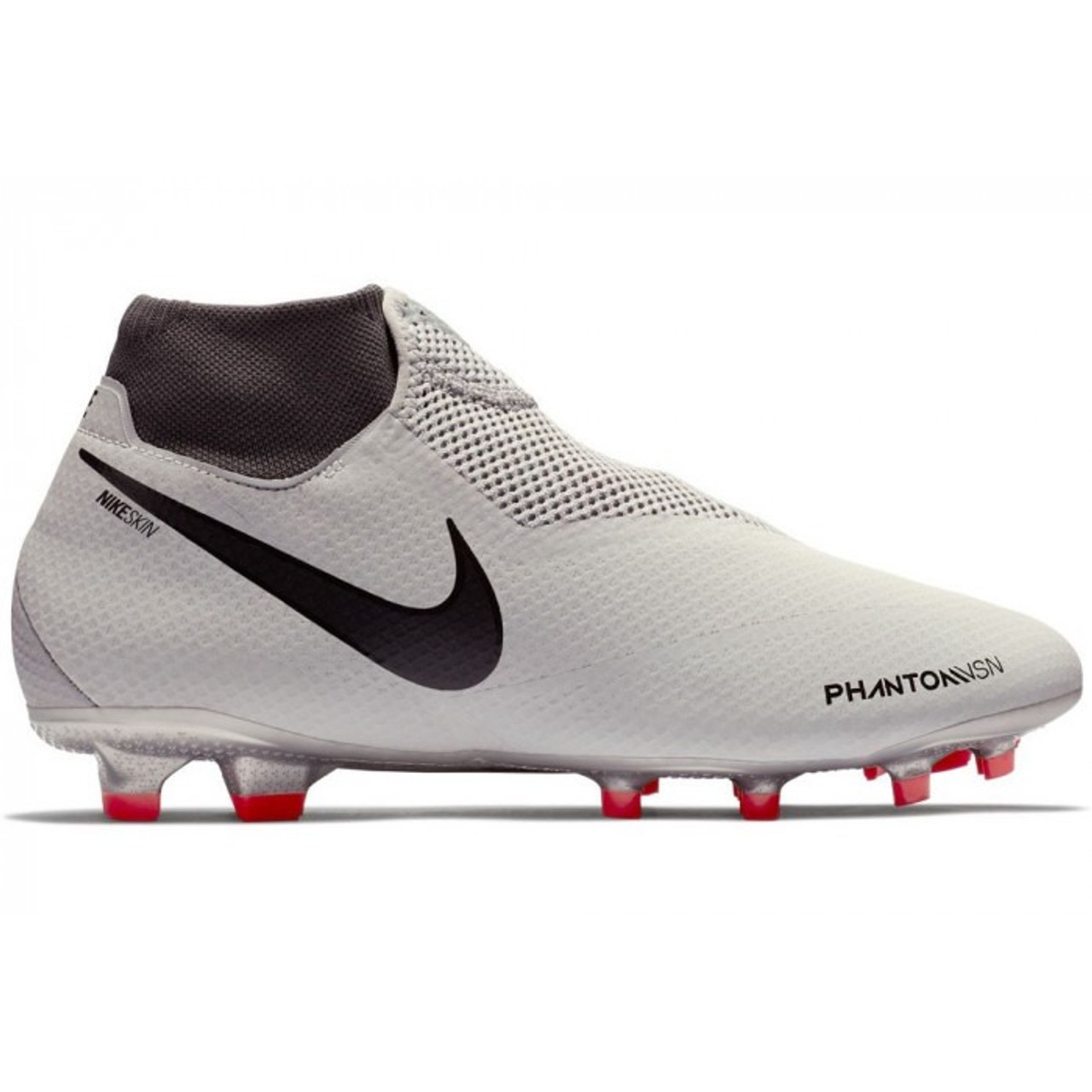 8d8c40fff NIKE PHANTOM VSN ELITE DF FG Pure Platinum - Soccer Plus